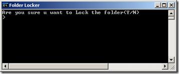 Cara Membuat Lock Folder